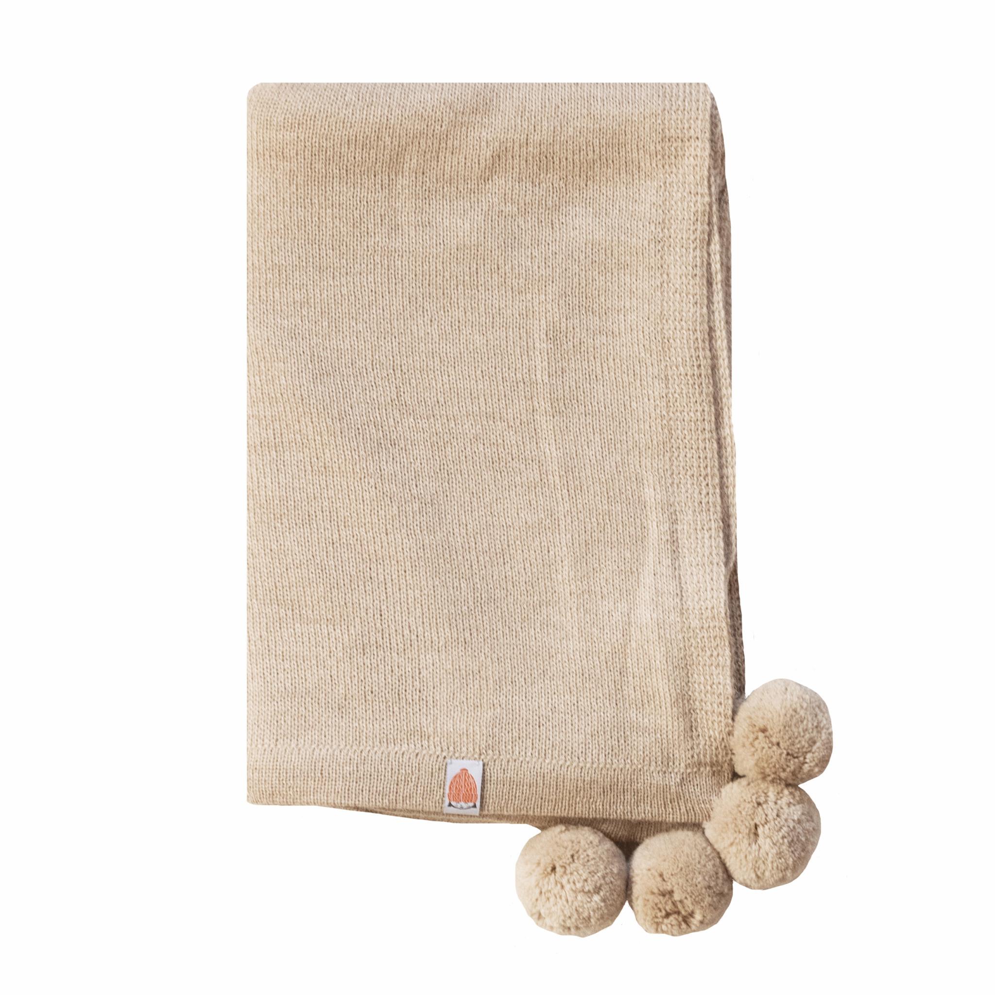 Shit That I Knit Pardy Wrap - Light Camel
