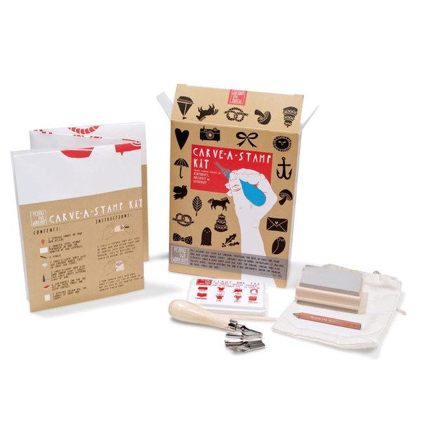 Yellow Owl Workshop Yellow Owl Workshop Carve-A-Stamp Kit