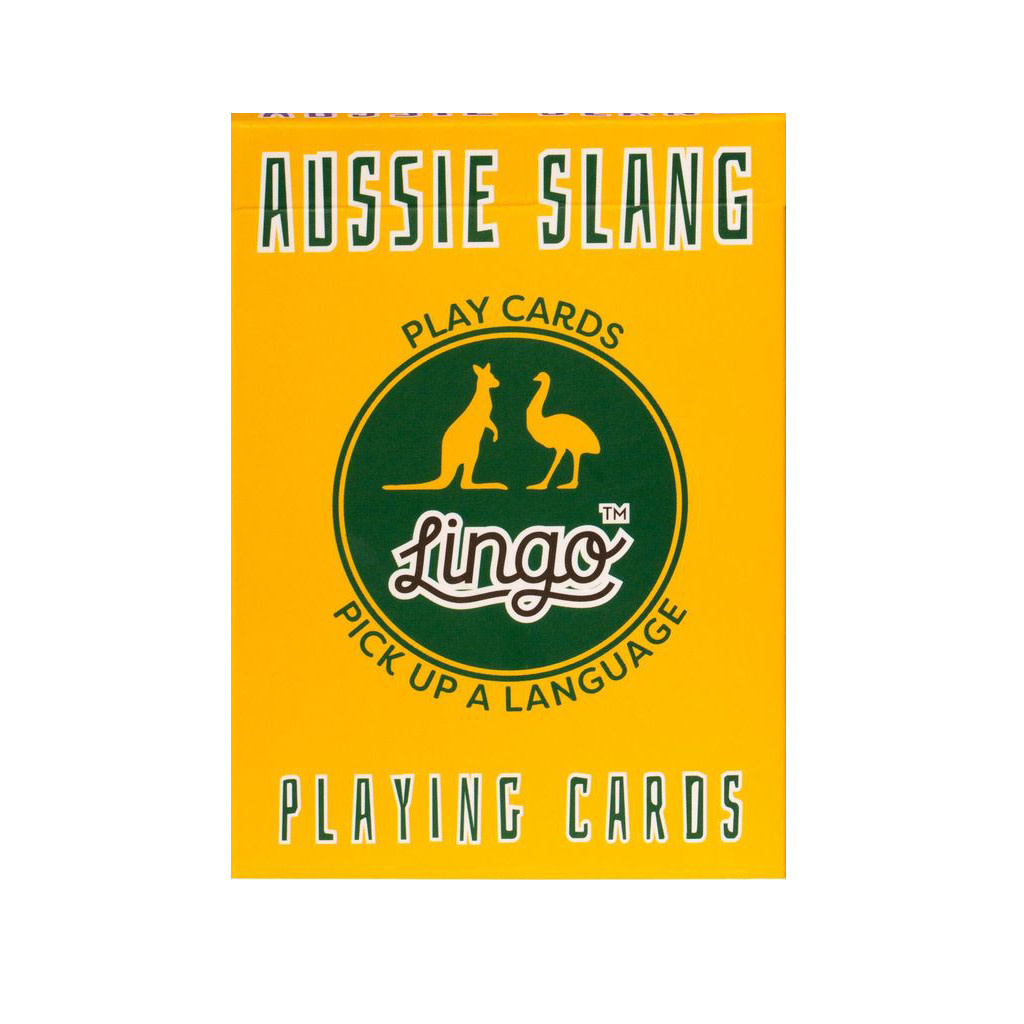 Lingo Lingo Language Cards - Aussie Slang
