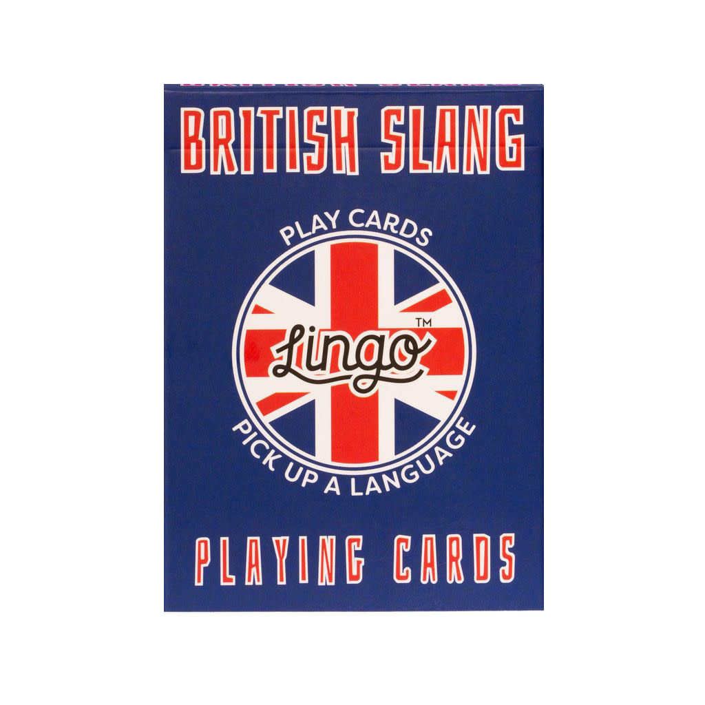 Lingo Language Cards - British Slang
