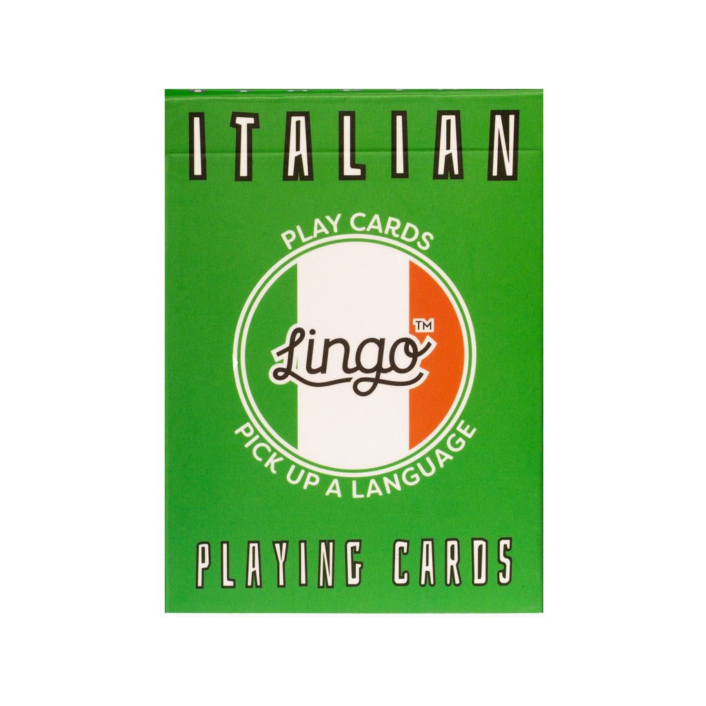 Lingo Lingo Language Cards - Italian