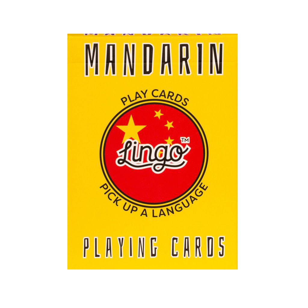 Lingo Lingo Language Cards - Mandarin