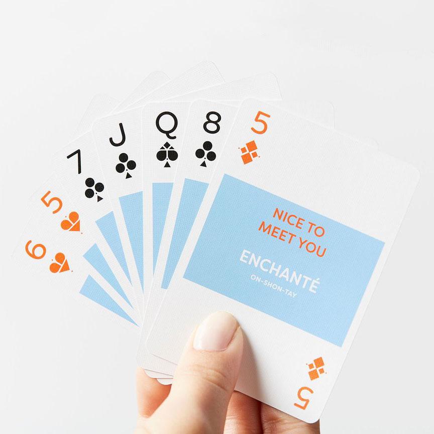 Lingo Language Cards - French