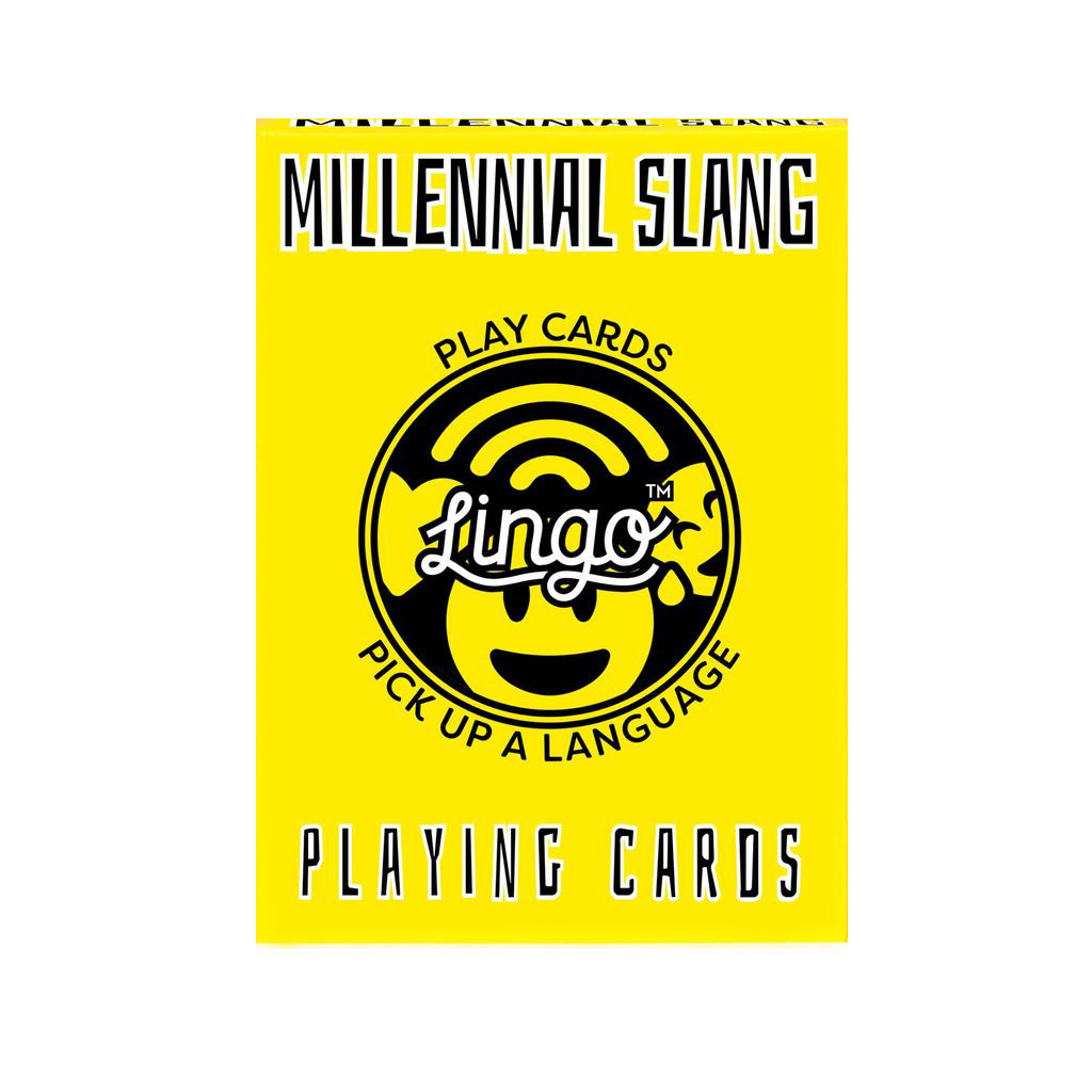 Lingo Language Cards - Millennial Slang