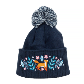 Buy Olympia Papio Press Embroidered Pom Hat - Woodland Wander