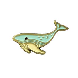 Buy Olympia Susie Ghahremani Whale Enamel Pin