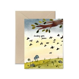 Buy Olympia Little Truths Sending You Peace Card