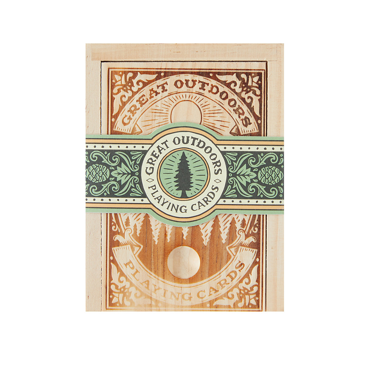 Chronicle Great Outdoors Playing Cards
