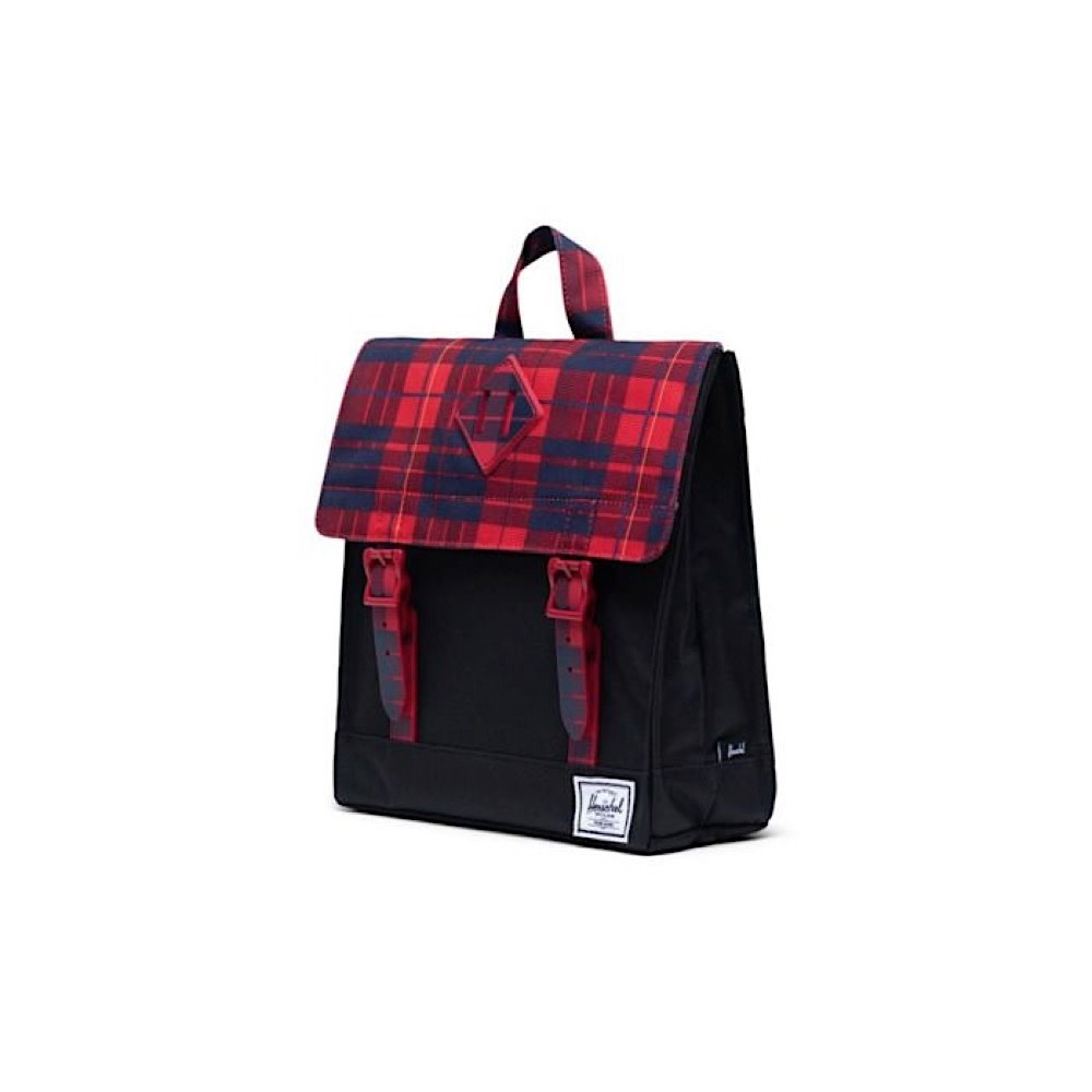 Herschel Kids Survey Backpack - Black/Winter Plaid