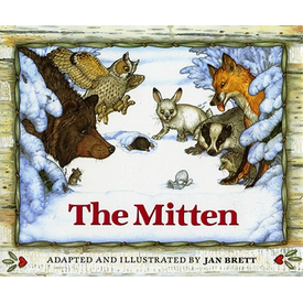 Penguin The Mitten - Board Book