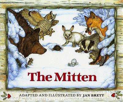 Penguin The Mitten - Board Book