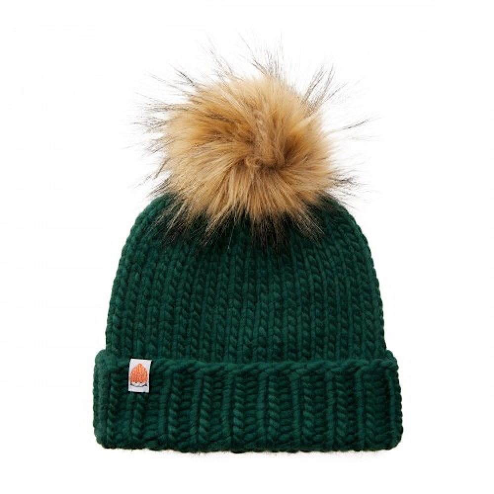 Sh*t That I Knit - Rutherford Beanie - Forest Green