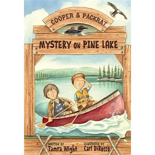 Islandport Press Cooper & Packrat: Mystery On Pine Lake (Book 1)