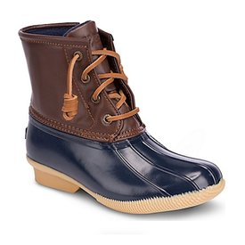 Sperry Sperry Big Kids SP Saltwater Boot - Navy
