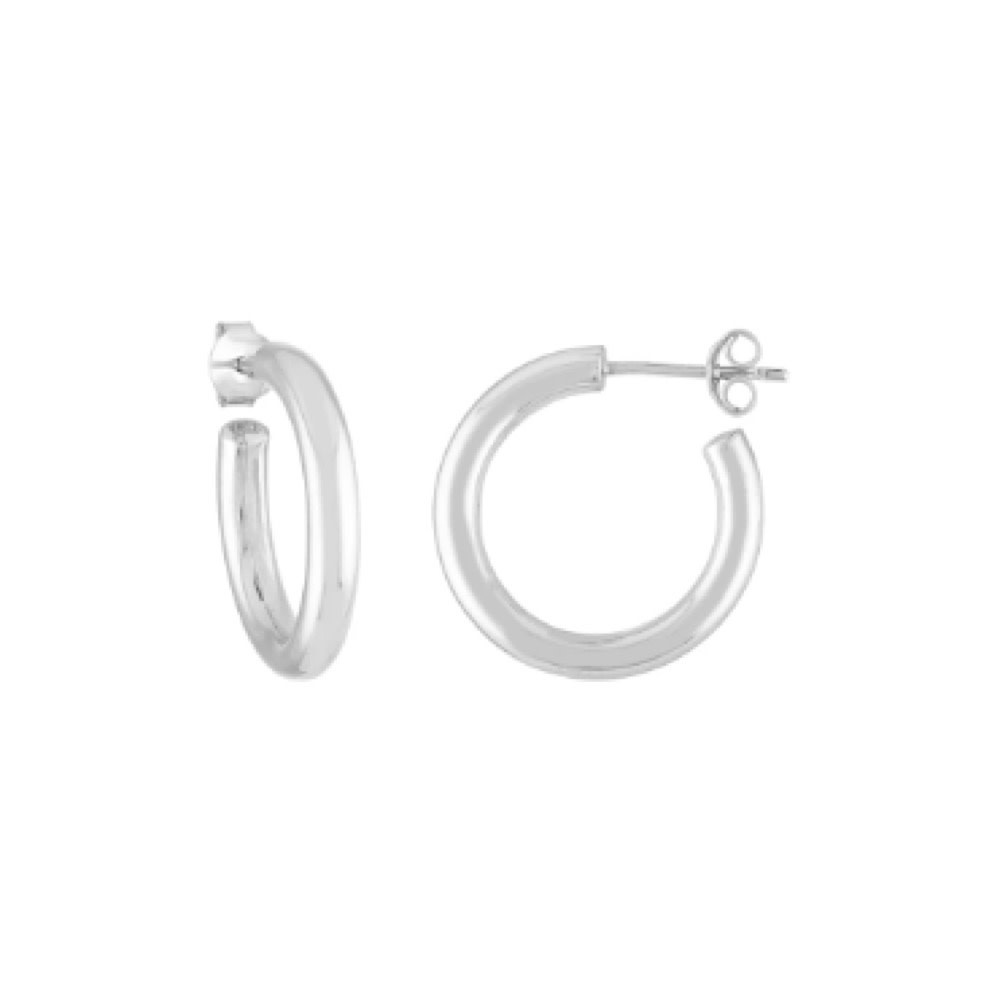 Machete - Mini Hoop Earrings - Sterling Silver