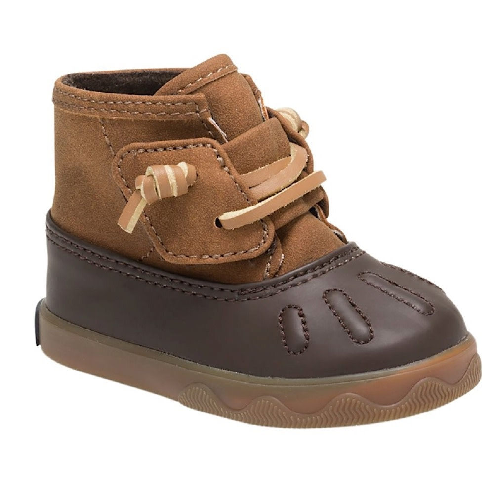 Sperry Icestorm Crib Boot - Tan/Brown