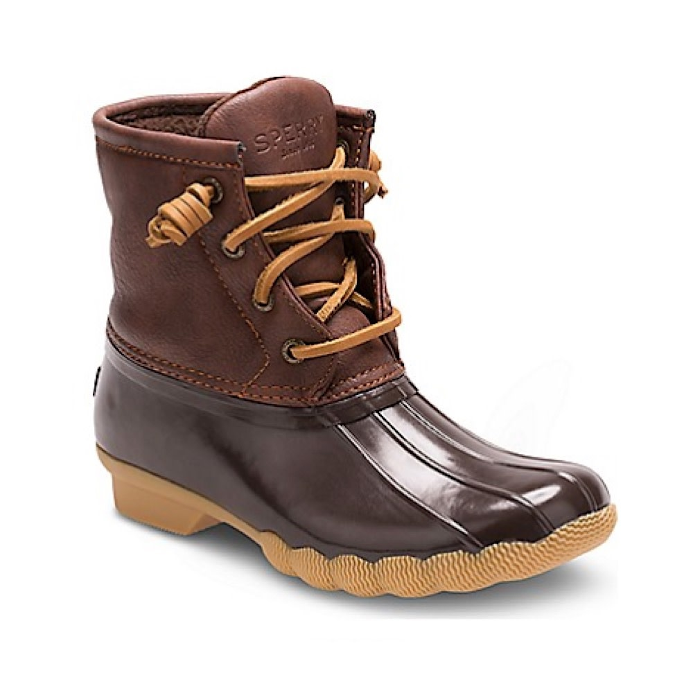 Sperry Little Kids Saltwater Boot - Brown