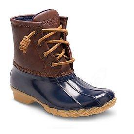 Sperry Sperry Little Kids Saltwater Boot - Navy