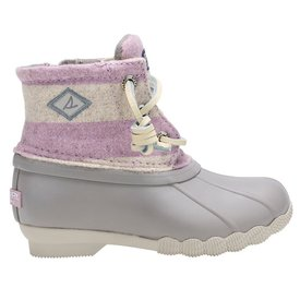 Sperry Sperry Little Kids Saltwater Boot - Oat/Lilac