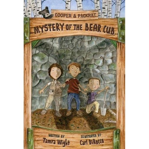 Islandport Press Cooper & Packrat: Mystery of the Bear Cub (Book 4) - Hardcover