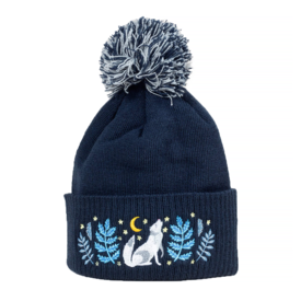 Buy Olympia Papio Press Embroidered Pom Hat - Celestial Call