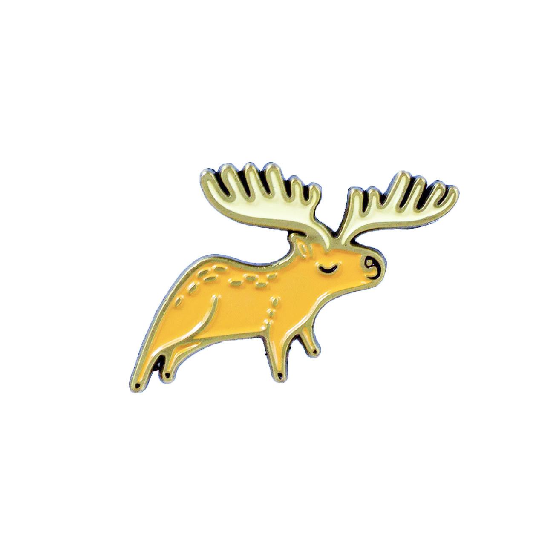 Susie Ghahremani Moose Enamel Pin