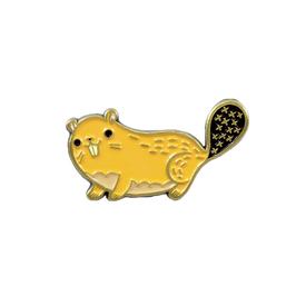 Buy Olympia Susie Ghahremani Beaver Enamel Pin