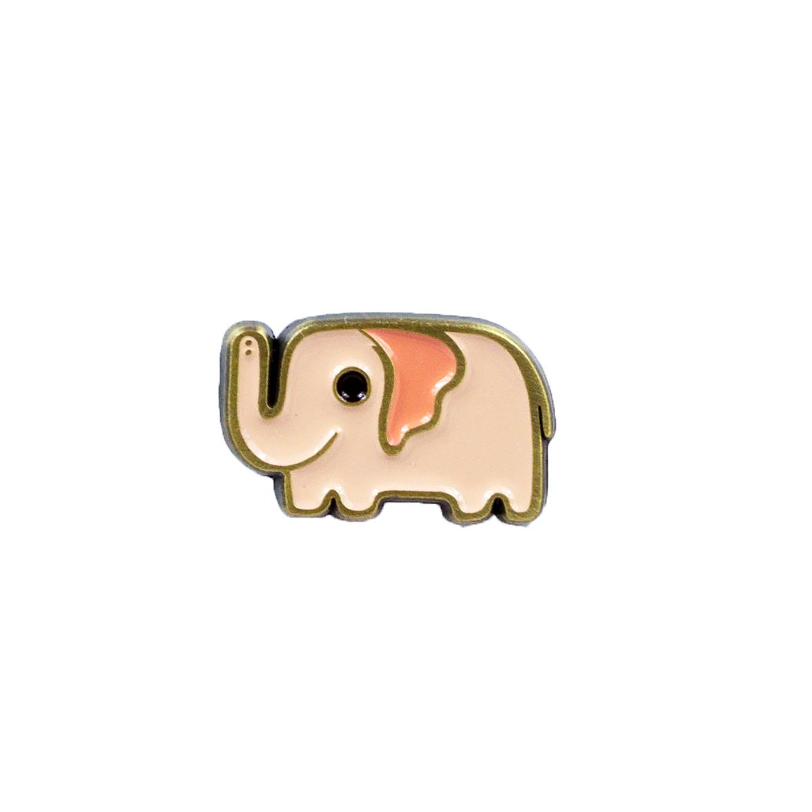 Susie Ghahremani Pink Elephant Enamel Pin