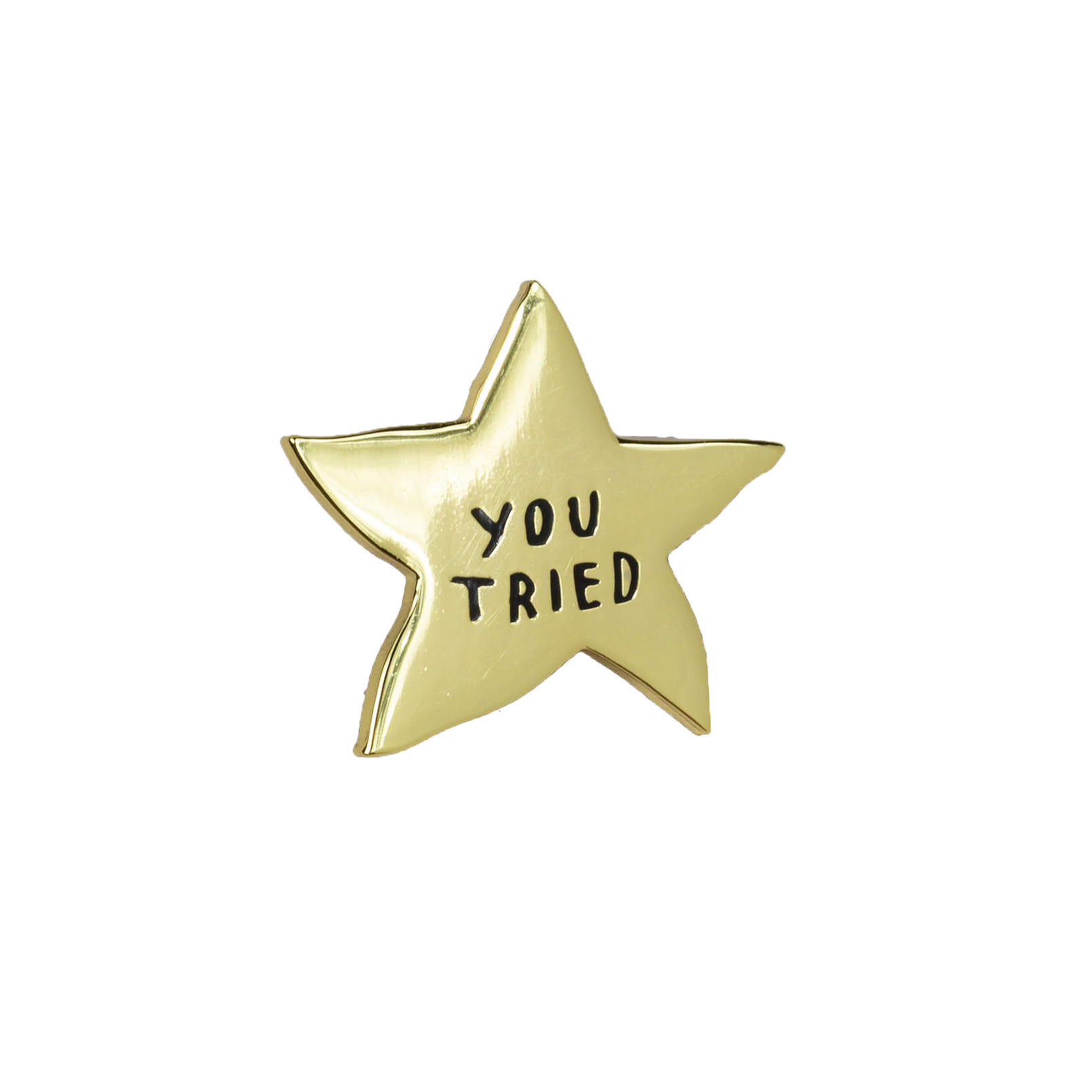 Buy Olympia Adam J. Kurtz You Tried Gold Star - Enamel Pin