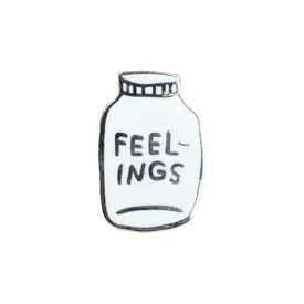 Buy Olympia Adam J. Kurtz Bottled Up Feelings - Enamel Pin