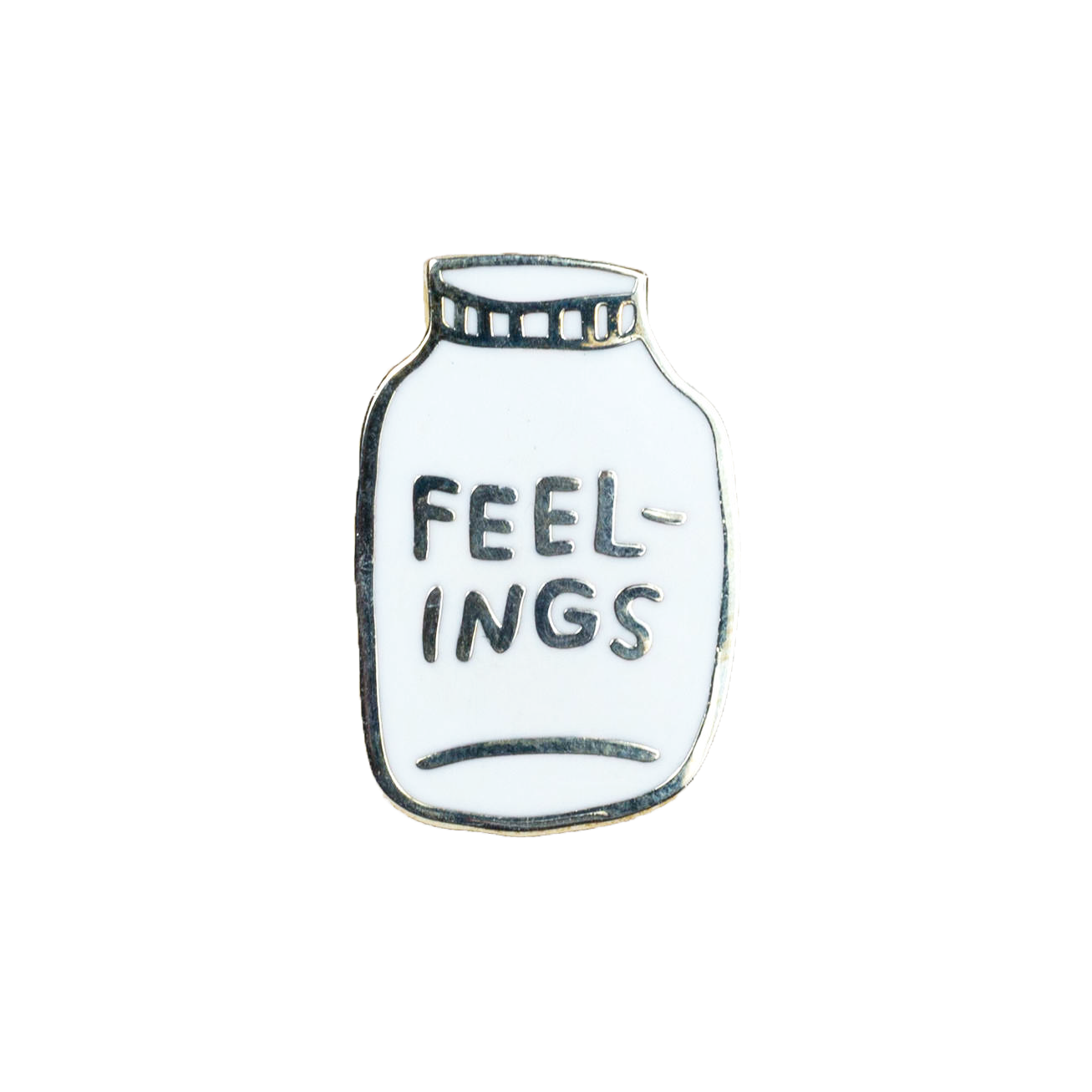 Buy Olympia Adam J. Kurtz Bottled Up Feelings - Enamel Pin