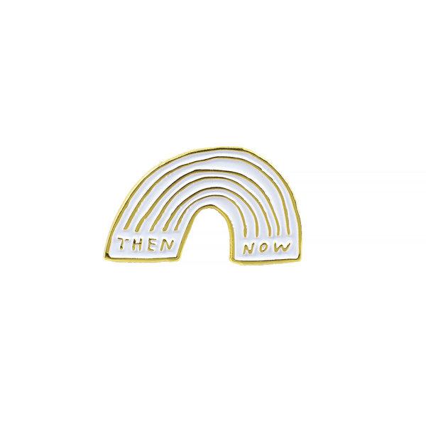 Buy Olympia Adam J. Kurtz Then & Now Enamel Pin