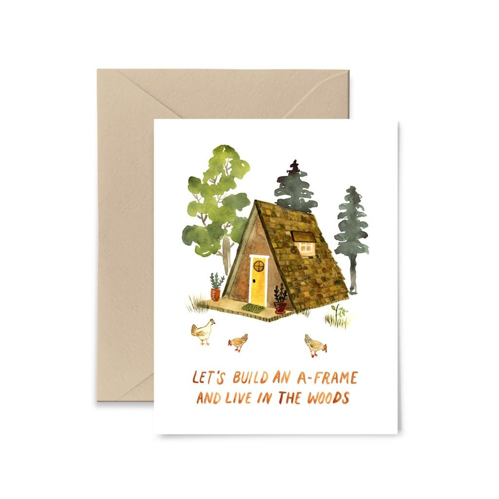 Little Truths Build An A-Frame Card