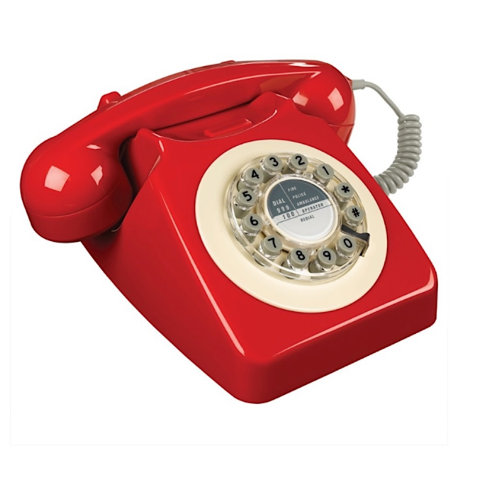 Wild & Wolf Telephone - 746 Box Red