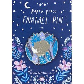 Buy Olympia Papio Press Enamel Pin - Sleeping Fox
