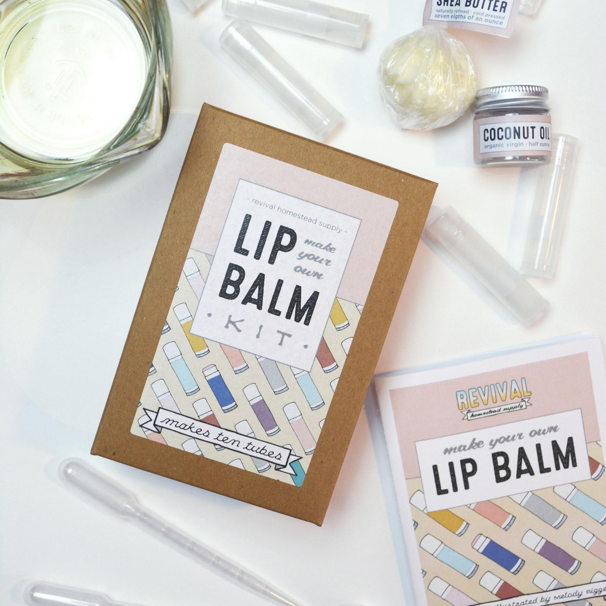Revival Homestead Supply Lip Balm Kit