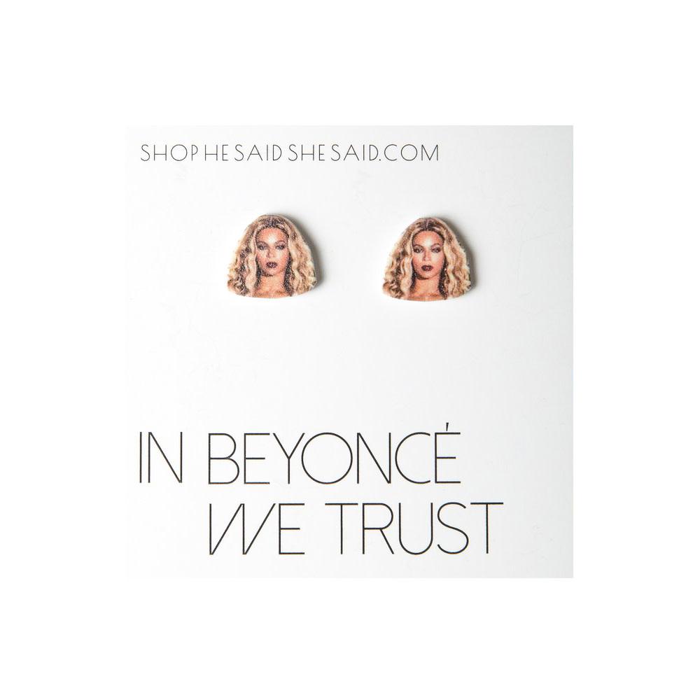 He Said, She Said Earrings - Beyoncé