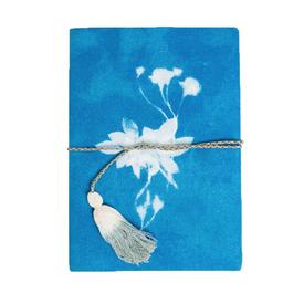 Printfresh Studio Printfresh Studio Cyan Wild Rose Medium Fabric Journal