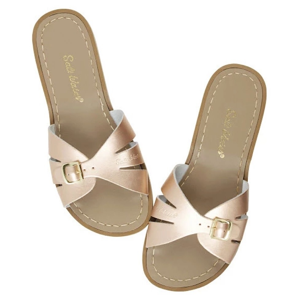 Salt Water Sandals Adult Classic Slides - Rose Gold