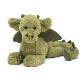 Jellycat Jellycat Monty Dragon - Medium - 15 Inches