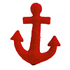 Craftspring Red Anchor