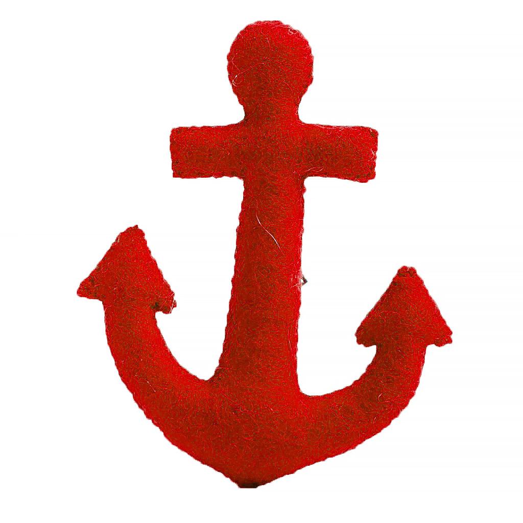 Craftspring Red Anchor