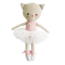 Alimrose Alimrose Odette Kitty Ballerina - Pink Blossom