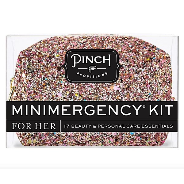 Pinch Provisions Pinch Provisions Glitter Bomb Minimergency Kit - Rose Gold