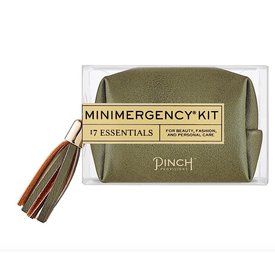 Pinch Provisions Pinch Provisions Vegan Leather Minimergency Kit - Moss