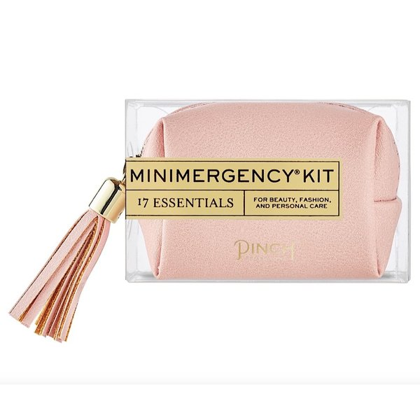 Pinch Provisions Pinch Provisions Vegan Leather Minimergency Kit - Blush