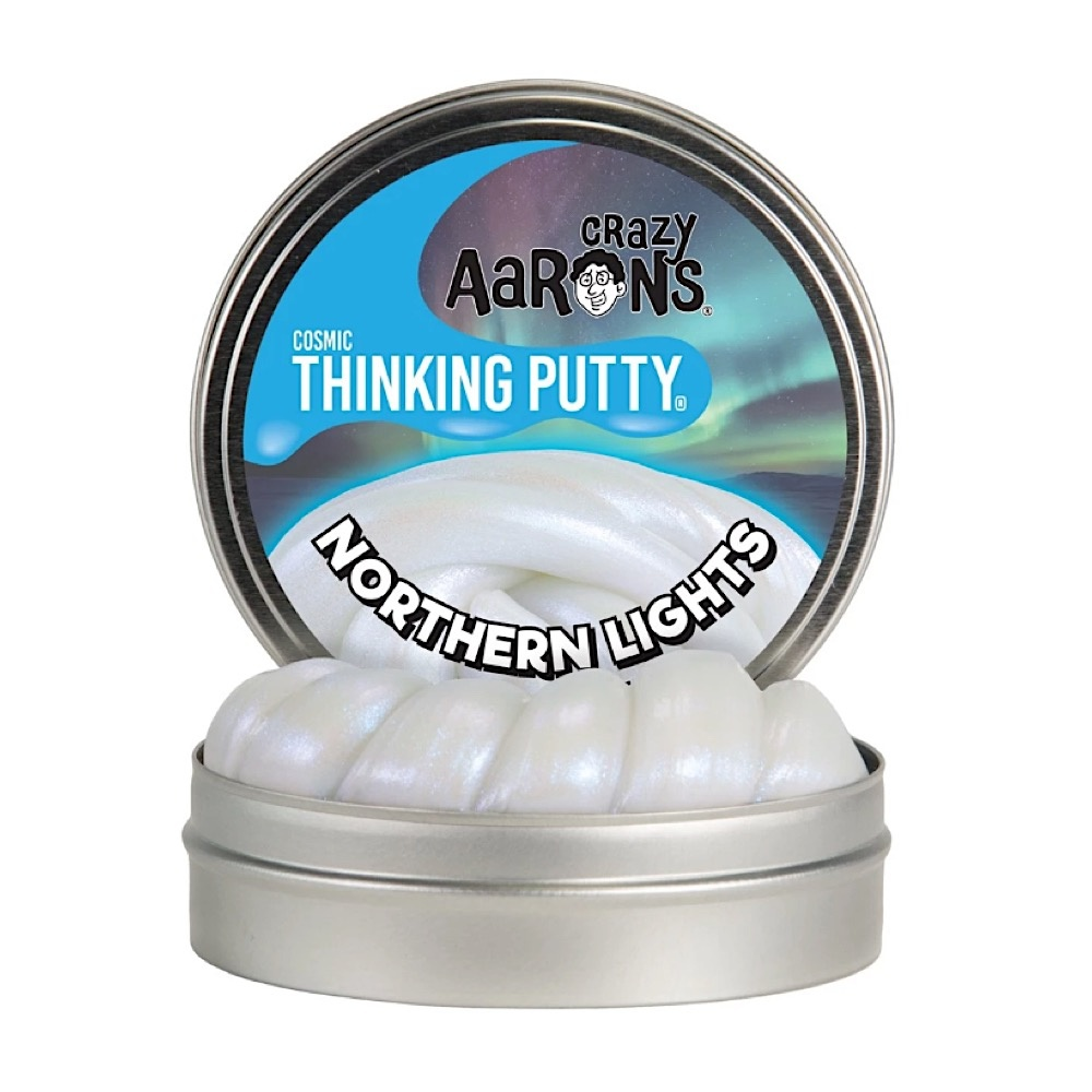 Crazy Aaron's Thinking Putty Northern Lights 4""