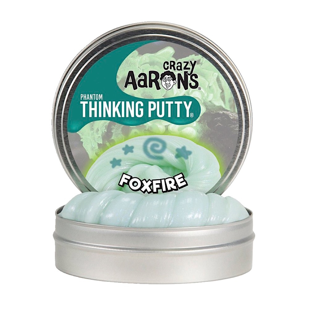 Crazy Aaron's Thinking Putty Foxfire 4""