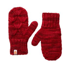 Shit That I Knit Shit That I Knit Motley Mittens - Cardinal