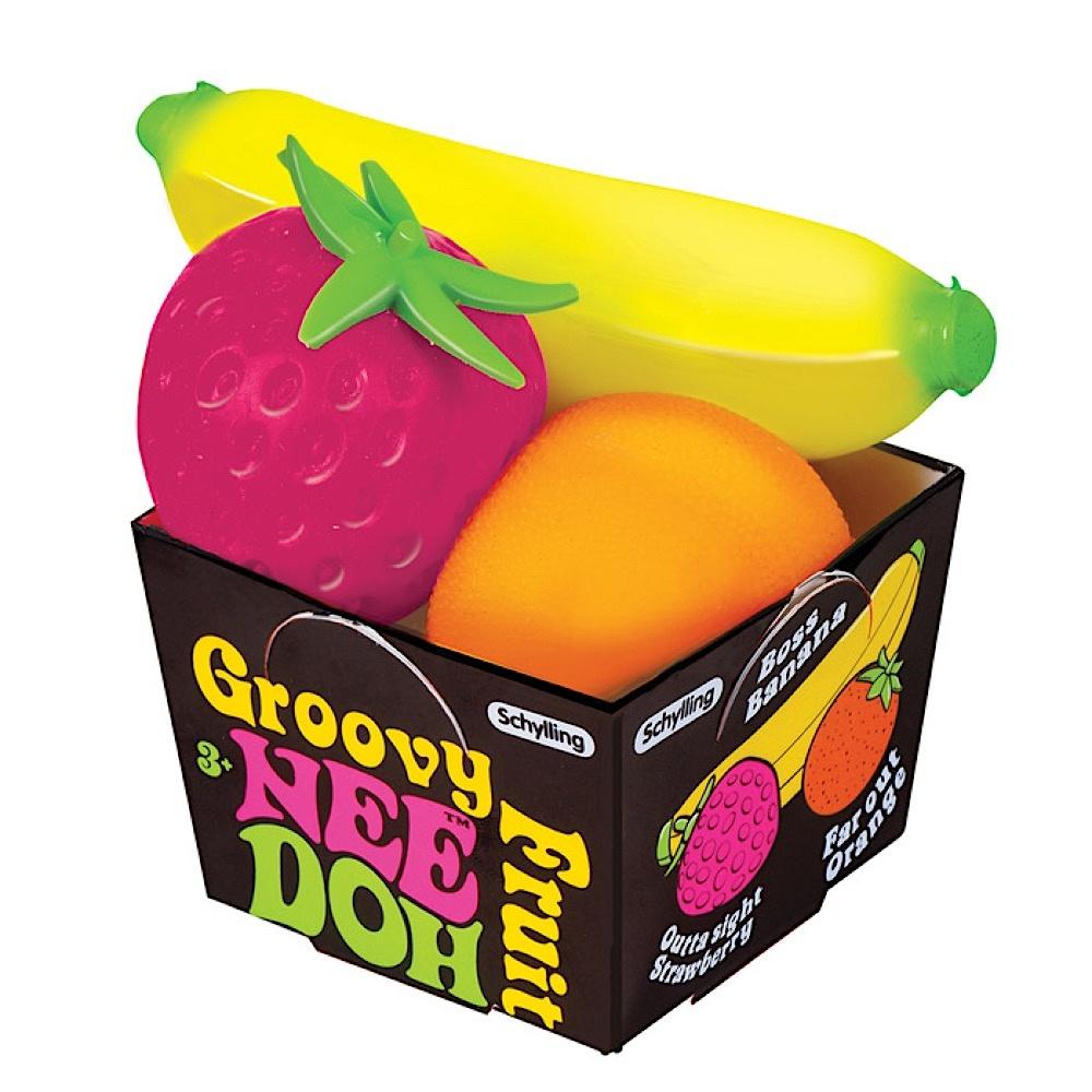 Schylling Nee Doh - Groovy Fruit